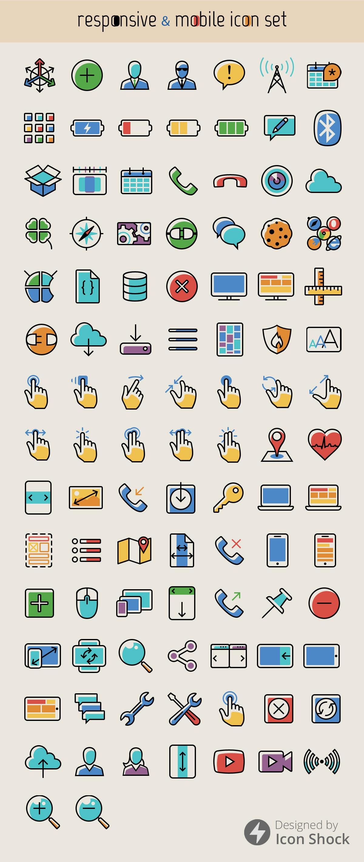 100-responsive-mobil-ikon-set-2