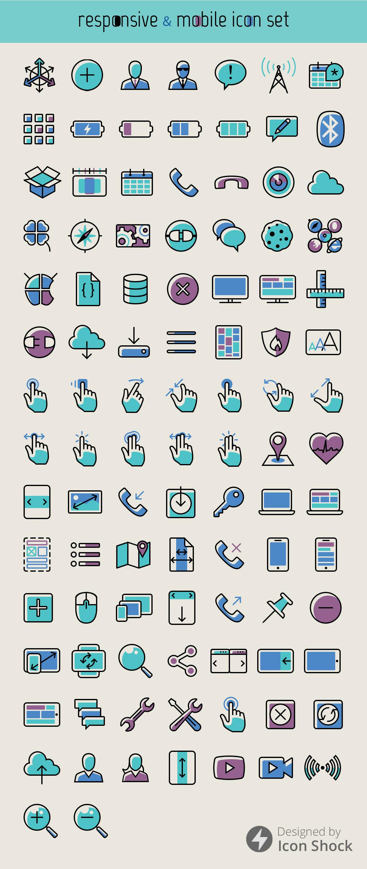 100-responsive-mobil-ikon-set-3