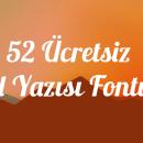 52 Ücretsiz El Yazısı Fontu