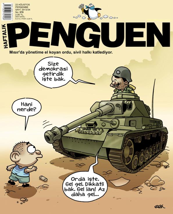Penguen 22 Ağustos Kapağı