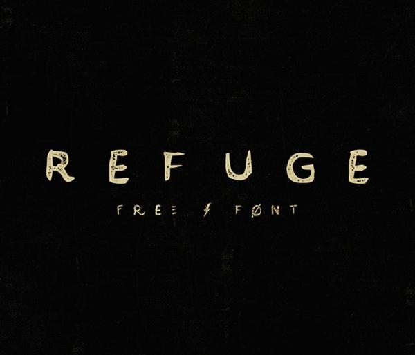 Refuge-ucretsiz-font