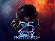 Adobe photoshop 25.yaşını kutluyor.