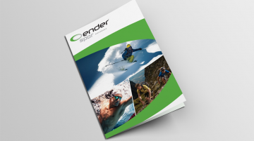Ender Spor Ironman 70.3 Event Broşür Tasarımı