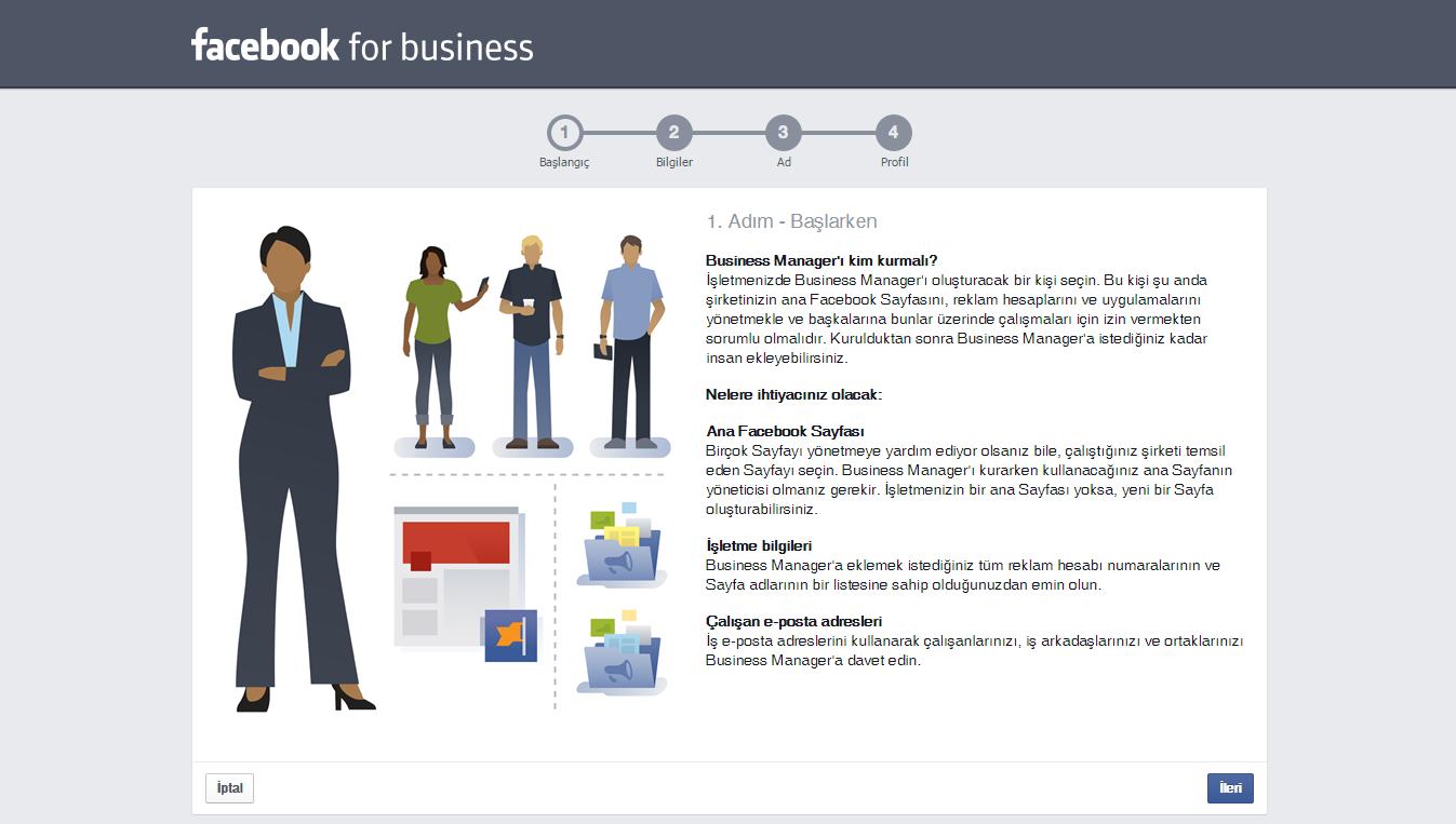 Facebook Business 2.Adım