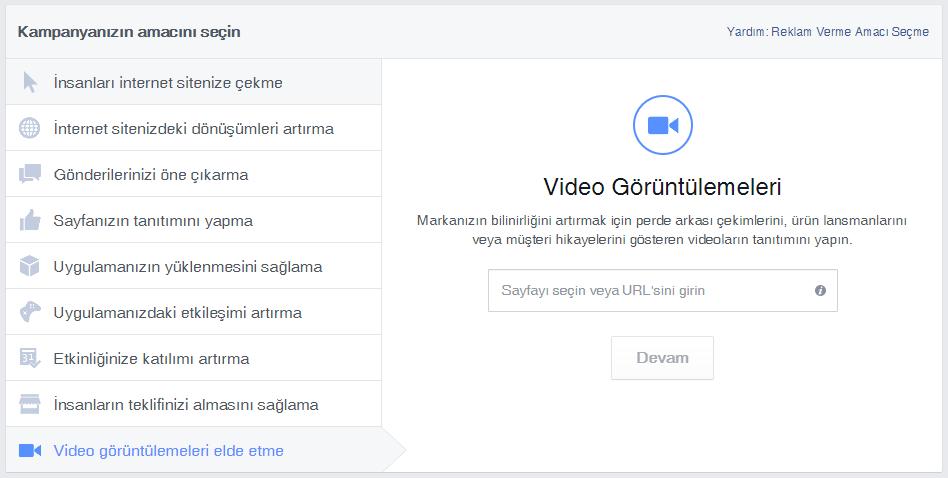 Video görüntülemeleri elde etme