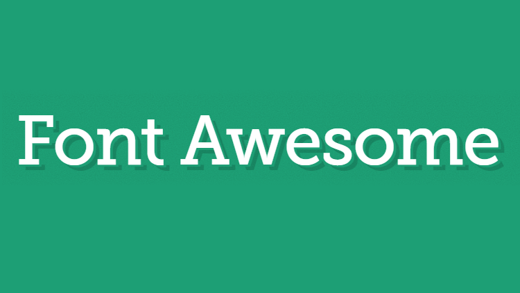 Font Awesome Photoshop'ta Kullanımı
