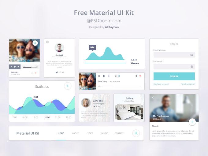 google-material-design-ui-kit