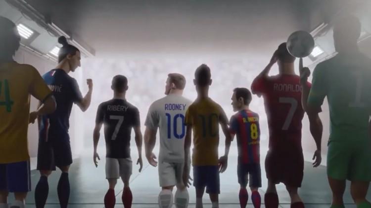 """Nike Futbol'un """"Son Oyun"""" Animasyon Filmi"""