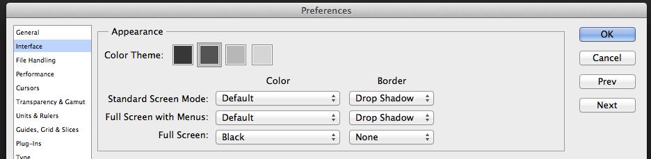 photoshop-interface-ayarlari