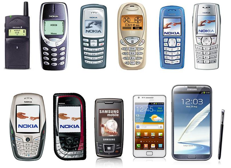 Şimdiye kadar kullandığım telefonlar