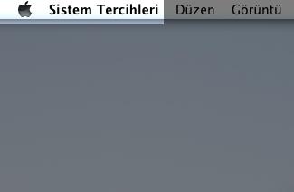 Mac Sistem Tercihleri