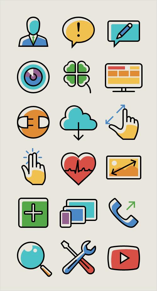 100-responsive-mobil-ikon-set-4