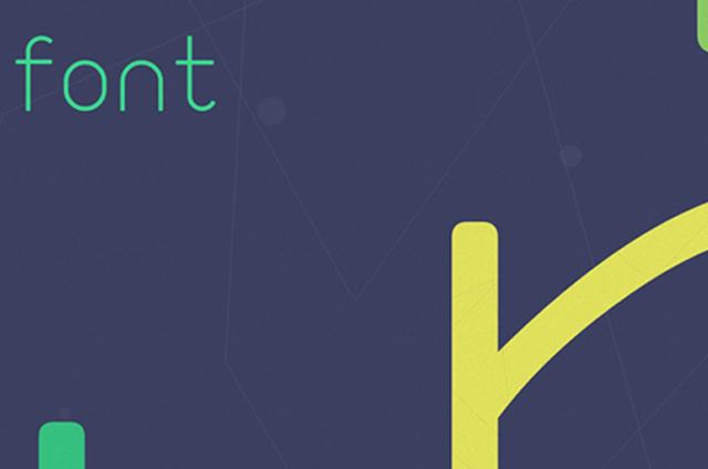 Flat Tasarım İçin 40 Ücretsiz Font