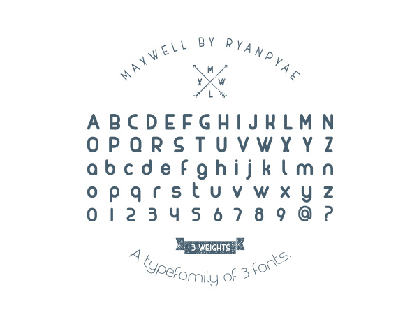 MAXWELL-font