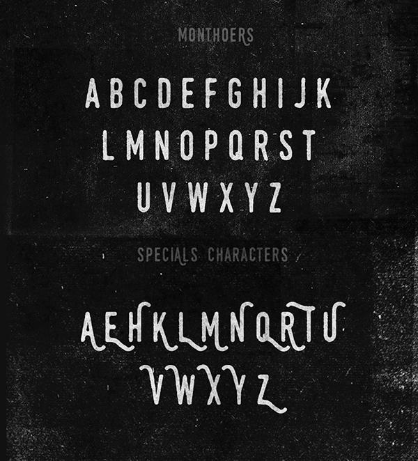 Monthoers-font
