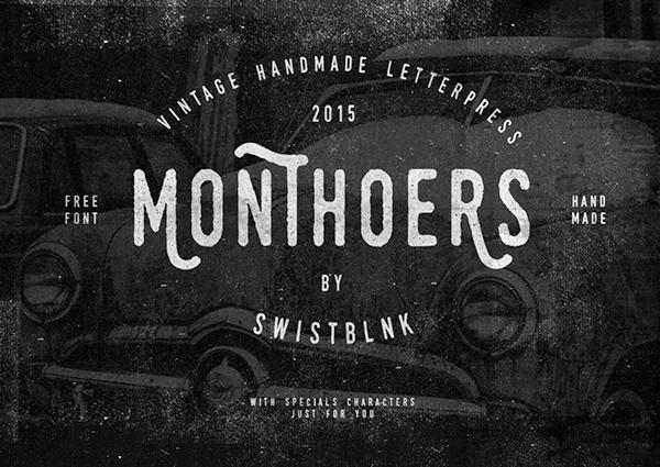 Monthoers-ucretsiz-font