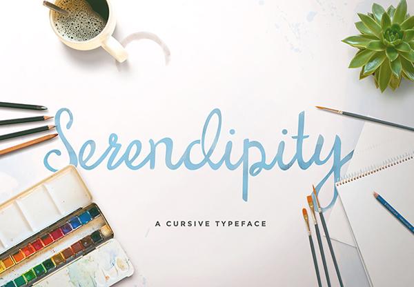 Serendipity+Script+freefont