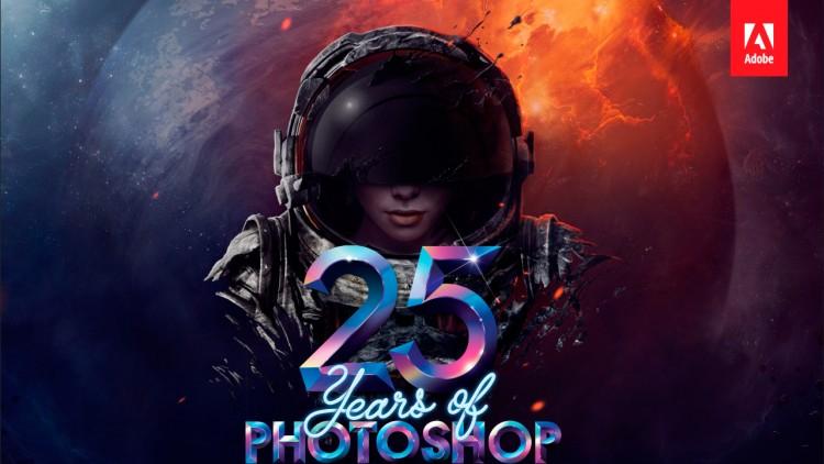 Adobe Photoshop 25 Yaşında!