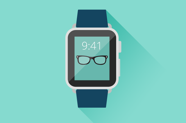 Apple Watch İkon [PSD]