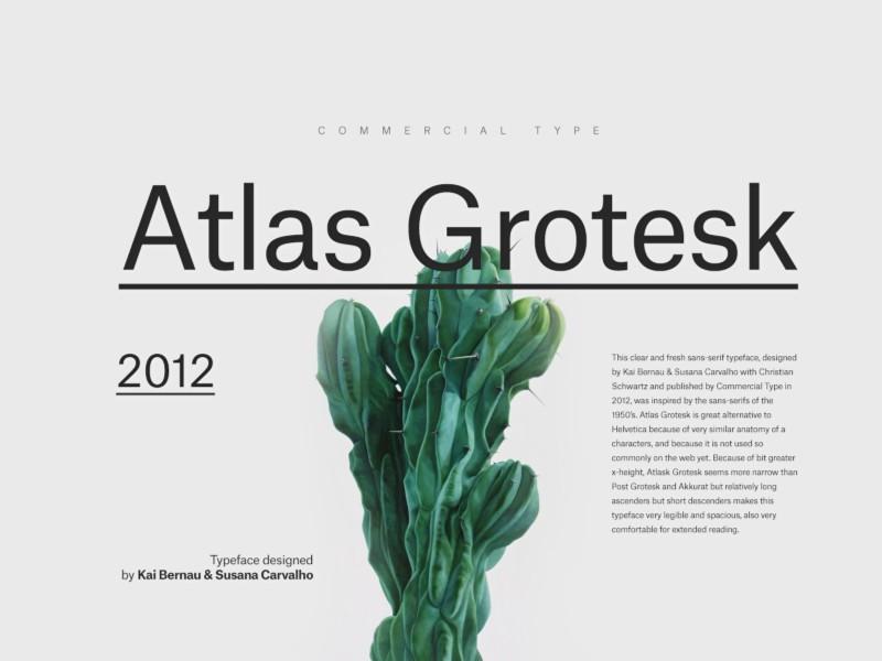 Atlas Grotesk Font