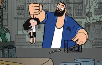 Baba ve Kızını Anlatan Ödüllü Kısa Animasyon Filmi