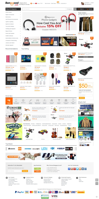 Banggood Alışveriş Sitesi