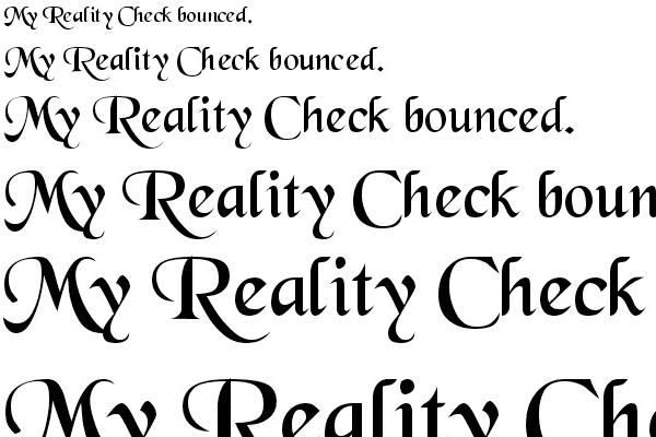 Black Chancery Font
