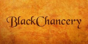 BlackChancery Font