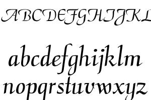 CalligraphyFLF Font