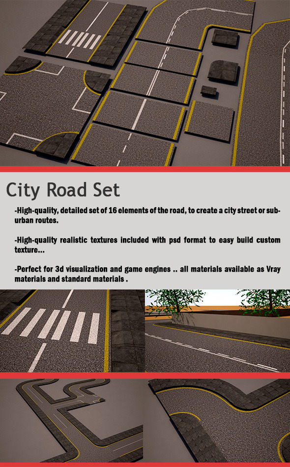 city-road-set