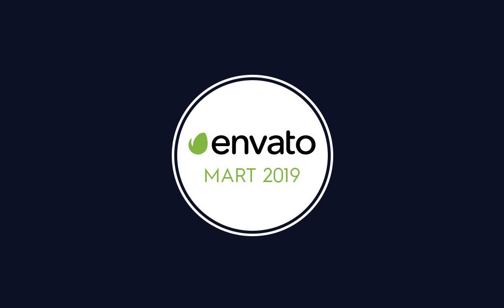 Envato Market Ücretsiz Mart 2019 Çalışmaları