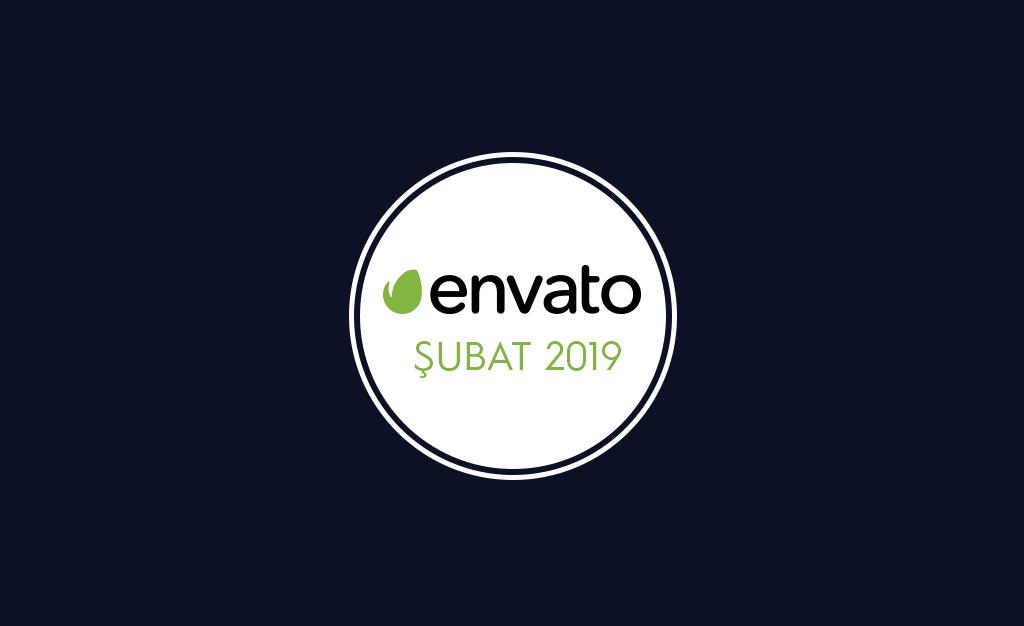 Envato Market Ücretsiz Şubat 2019 Çalışmaları