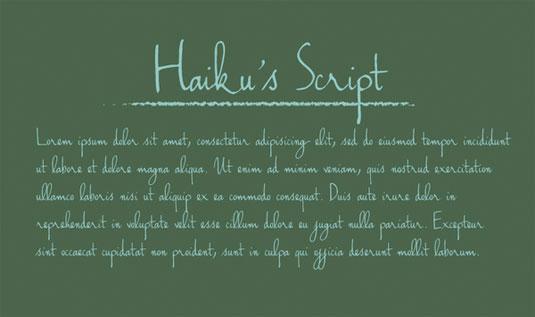 free-haikus-el-yazisi-fontu