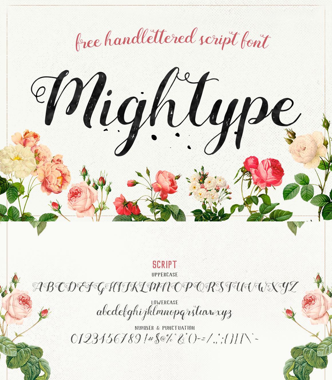 free-mightype-el-yazisi-fontu