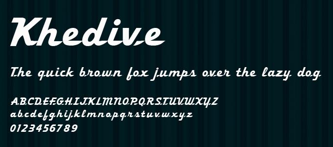 free-ucretsiz-khedive-el-yazisi-fontu