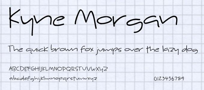 free-ucretsiz-kyne-morgan-el-yazisi-fontu