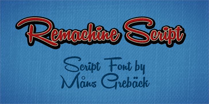 free-ucretsiz-remachine-script-el-yazisi-fontu