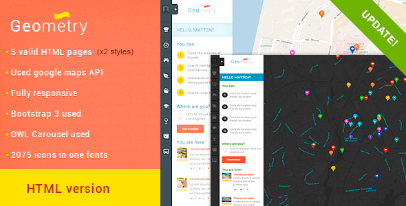 geometry-html-geolocation-template