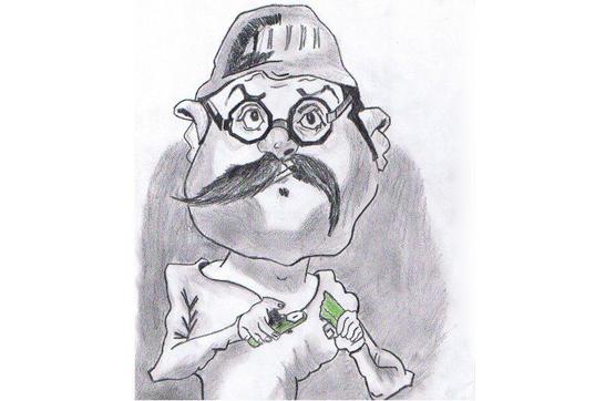 karakalem karikatür çalışmaları