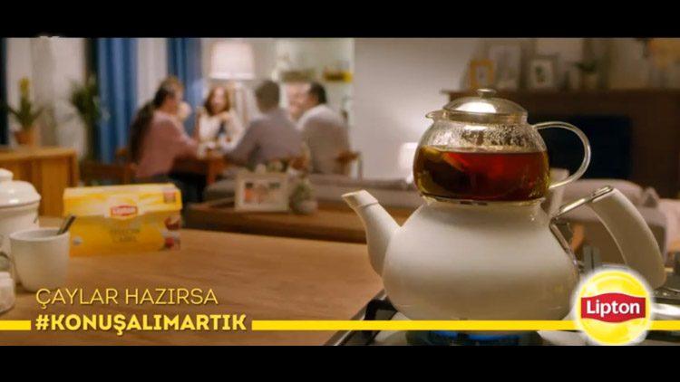 Lipton #Konuşalım Artık Etiketiyle Paylaştığı Türk Televizyon Tarihinin En Uzun ve En İlginç Reklamı