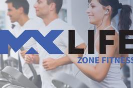 Maxlife Zone Fitness Club Logo Tasarımı