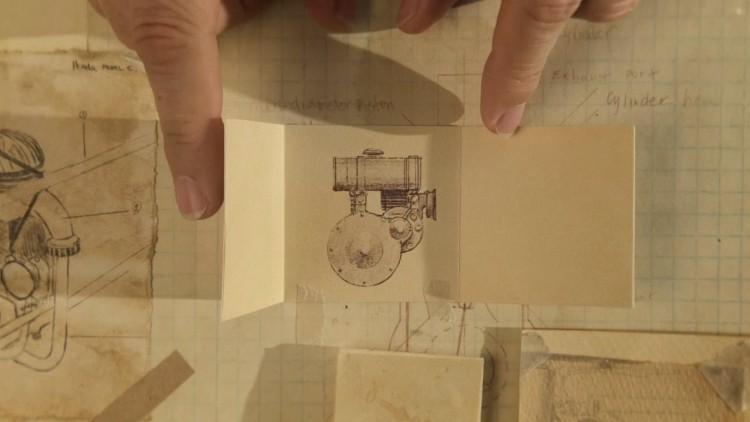 3.000 El Çizimi İllüstrasyonla Hazırlanmış Honda Reklamı