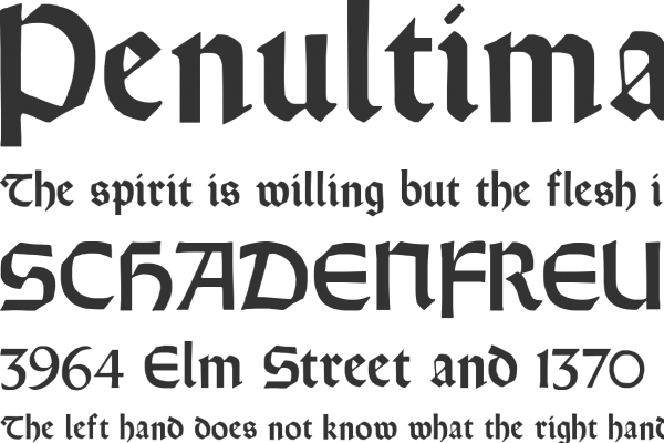 Orotund Font