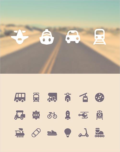 seyahat-temali-ikonlar