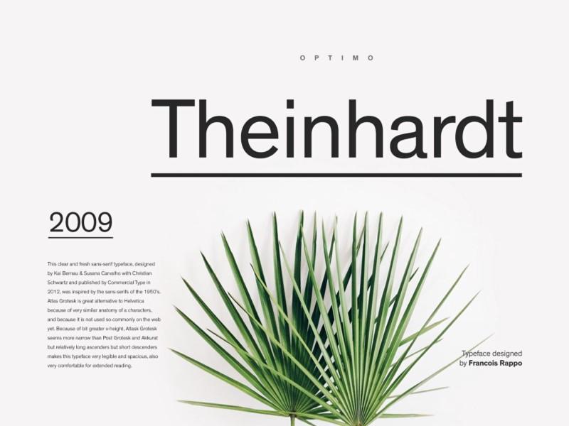 Theinhardt Font
