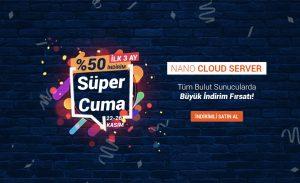 Tüm Bulut Sunucu (Cloud Server)'larda İlk 3 Ay %50 İndirim Fırsatı!