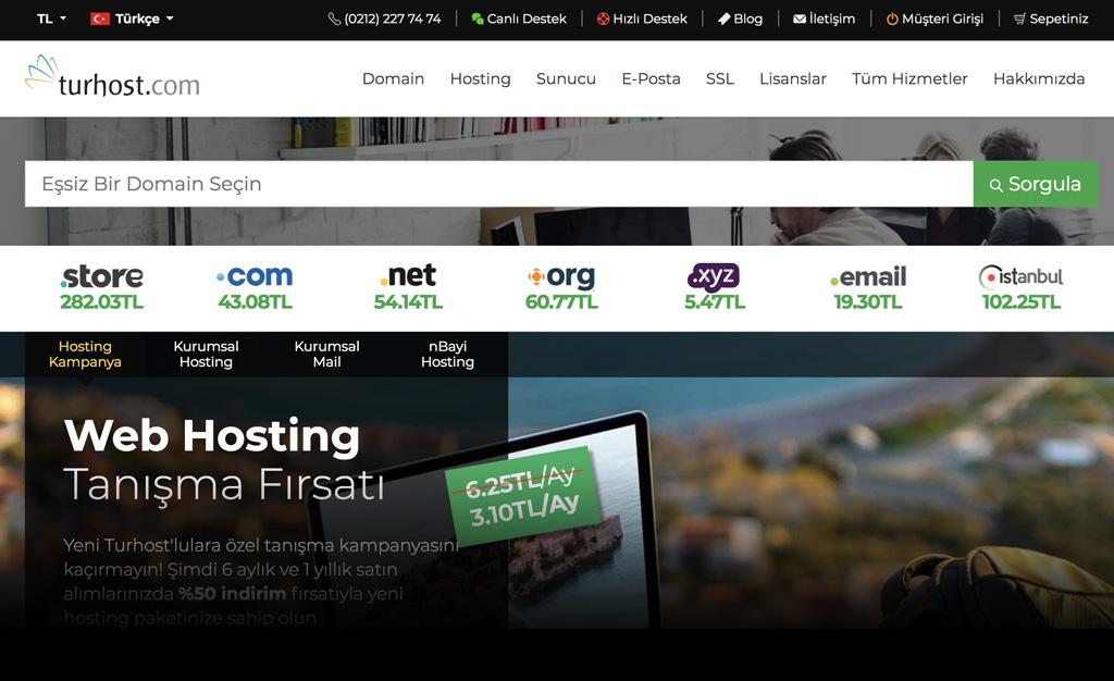 Uygun Hosting Paketleri ile Sizde Hemen Bir Web Sitesi Kurun